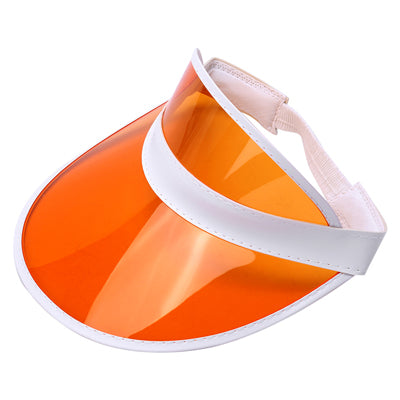 Retro UV protection visor (white strap)