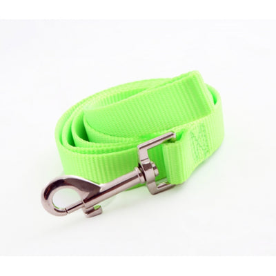 Toy Doggie™ - Fluorescent Green Nylon Dog Leash