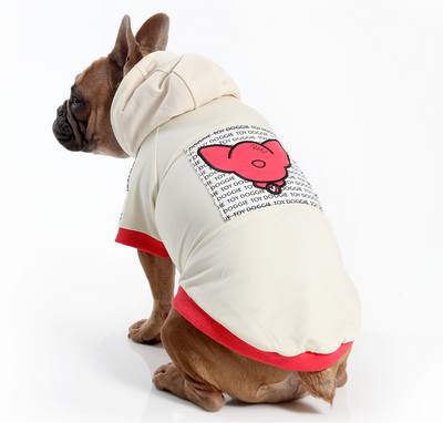 Toy Doggie™ - Limited Edition - RED Barkin Hood | Dog & Cat Hoodie