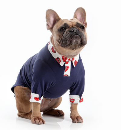 Toy Doggie™ - The Social Distance Talk | Dog Polo Shirt