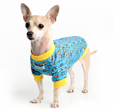 Toy Doggie™ - Mr. Car Jammin' Dog Shirt