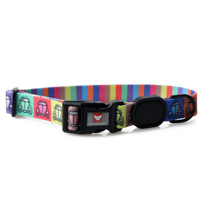 Toy Doggie™ - Vintage Rebel Premium Dog Collar | Expressions Collection