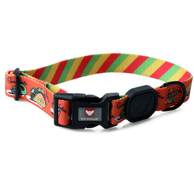 Toy Doggie™ - Tacobout Terrific! Premium Dog Collar