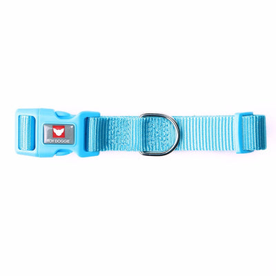 Toy Doggie™ - Turquoise Nylon Dog Collar