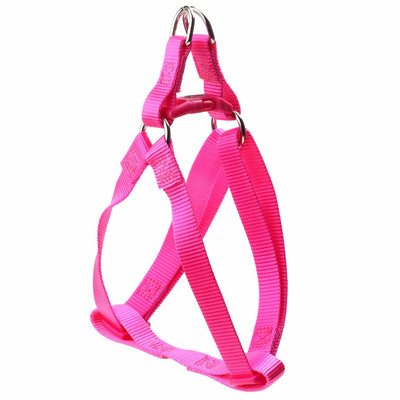 Toy Doggie™ - Hot Pink Nylon Dog Harness