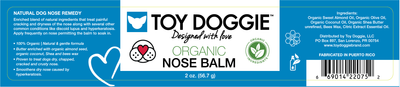 Toy Doggie™ - Organic Nose Balm