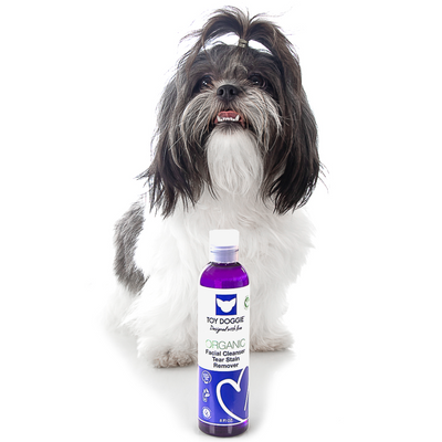 Toy Doggie™ - Natural Bacteria Remover | Facial Cleanser & Eye Stain Remover for Dogs