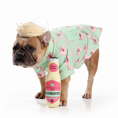 Toy Doggie™ - Coquito Boricua Dog Toy Bottle