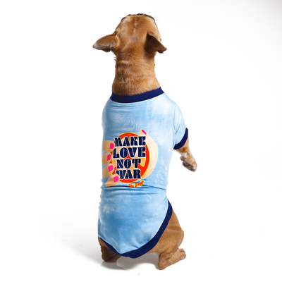 Make Love Not War Pet Shirt - The Power of Love Collection