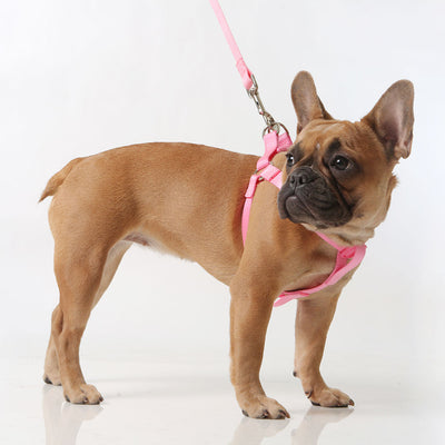 Toy Doggie™ - Soft Pink Nylon Dog Harness