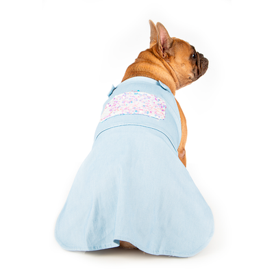 Toy Doggie™ - Sassy Denim | Female Jumper Dog Dress