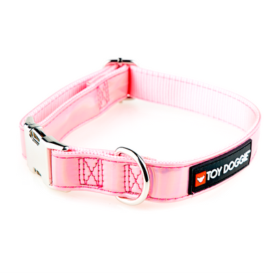 Toy Doggie™ - Pink Sparkle Prisma Dog Collar