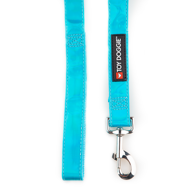 Toy Doggie™ - Cosmic Blue Holographic Dog Leash | Prisma Collection