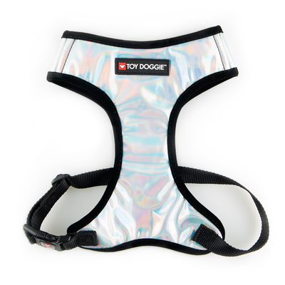Toy Doggie™ - Holographic Air-Mesh Dog Harness | Prisma Collection | Holo Lover