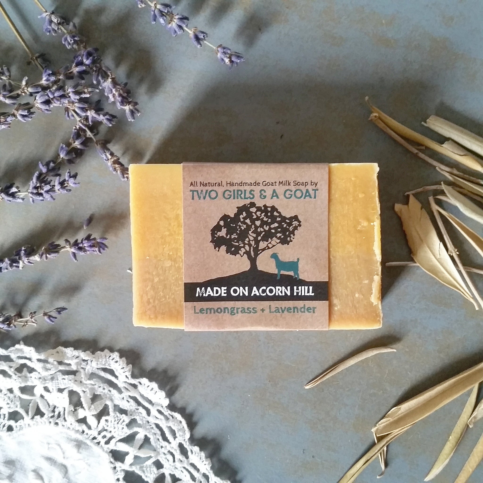 Lemongrass + Lavender | Goat Milk Soap