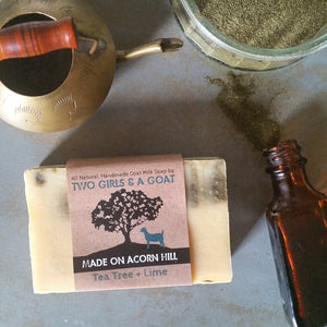 Tea Tree + Lime  | Goat Milk Soap
