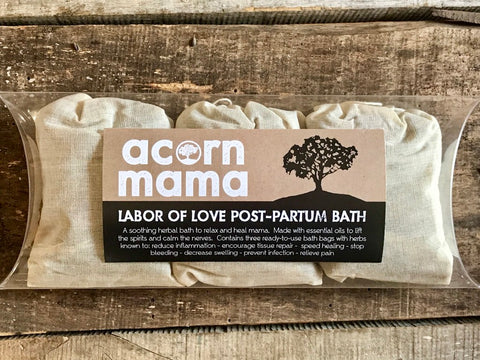 Labor of Love Postpartum Bath
