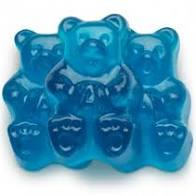 Gummy Bears - Blue Raspberry 1 LB