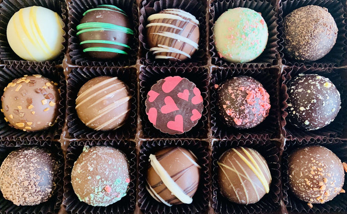 Valentine Life is Sweet Chocolate Truffle Gift Box