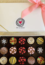 Load image into Gallery viewer, Valentine Life is Sweet Artisan Truffle Gift Box