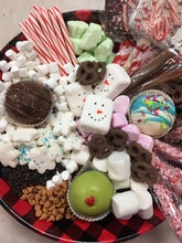 Load image into Gallery viewer, Hot Cocoa Bomb BYO Dessert Charcuterie Board - Small