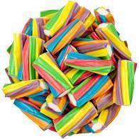Filled Rainbow Licorice 1 LB