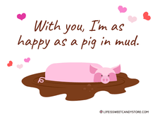 Load image into Gallery viewer, Valentine Peppermint Pig - Noel