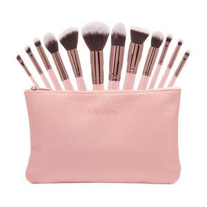 Set de 12 brochas-Beauty Creations