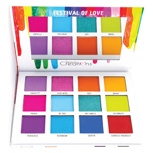 Paleta de sombras Festival of Love-Beauty Creations