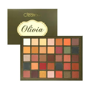 Paletas de sombras Olivia -Beauty Creations