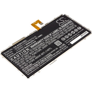 ACER ZA6025 (1ICP/4/82/74-2) Replacement Battery For ACER B3-A10-K154, B3-A10-K3BF, Iconia One 10 B3-A10, - vintrons.com