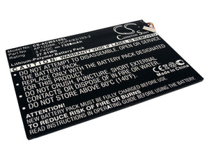 Battery For ACER Aspire P3-171-3322Y2G06as, Aspire P3-1715333Y2G12as, - vintrons.com