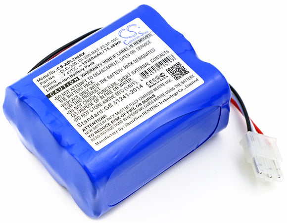 Battery For AT&T DLC-200C, (10200mAh) - vintrons.com
