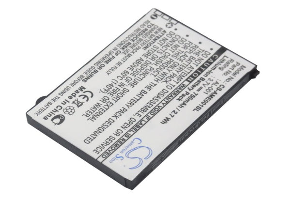 AMOI AL-001, / ORANGE AL-001 Replacement Battery For AMOI AL-001, / ORANGE New York, - vintrons.com