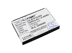 AT&T 5200080, W-6 Replacement Battery For AT&T Aircard 781S, Unite Pro, Unite Pro 4G, Unite Pro 4G LTE, / NETGEAR AC778AT-100NAS, Around Town 4G LTE, - vintrons.com