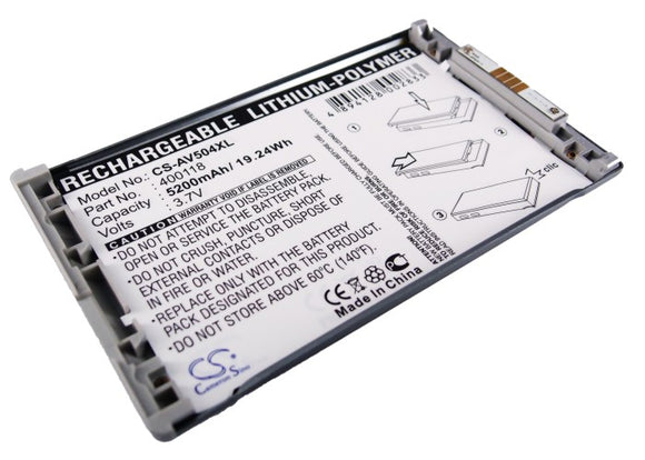 ARCHOS 400118 Replacement Battery For ARCHOS AV504, - vintrons.com