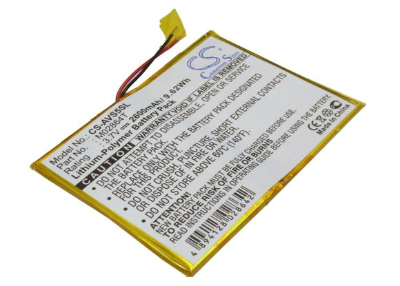 ARCHOS M02864T Replacement Battery For ARCHOS 5 60GB, - vintrons.com