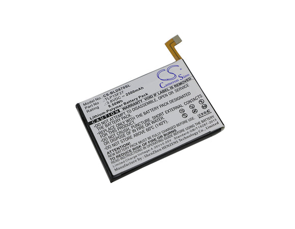 BLU TLP15F27 Replacement Battery For BLU D870U, Studio C Super Camera, - vintrons.com