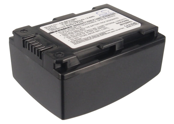 1800mAh Samsung IA-BP210R Battery Replacement For Samsung HMX-h300, - vintrons.com