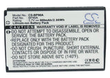 Samsung BP90A Battery Replacement For Samsung HMX-e10, - vintrons.com
