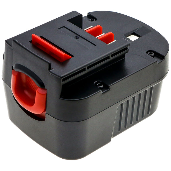 Battery For Black & Decker BD12PSK, BDBN1202, BDG1200K, BDGL12K,