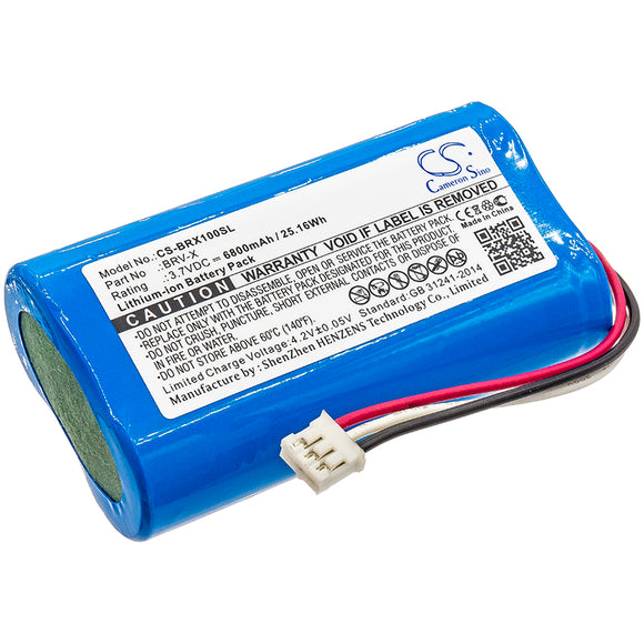 BRAVEN BRV-X Replacement Battery For BRAVEN BRV-X, BRVXBBB, - vintrons.com