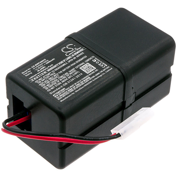 BOBSWEEP E14040401505a Replacement Battery For BOBSWEEP Bob PetHair, Junior, WJ540011, WP460011RO, - vintrons.com