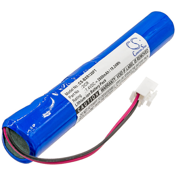 BAYCO 2ICR Replacement Battery For BAYCO SLR-2120, - vintrons.com