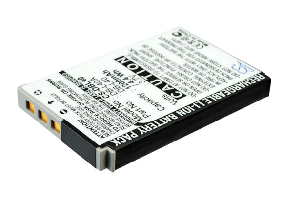 Battery For SANYO Xacti DMX-HD1, Xacti DMX-HD1A, Xacti DMX-HD2, - vintrons.com