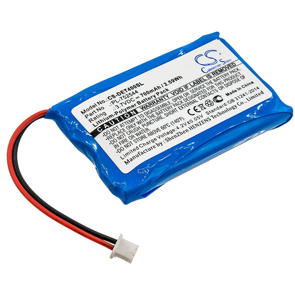 Replacement Battery For EDUCATOR ET-400 Transmitters, PL-752544, - vintrons.com