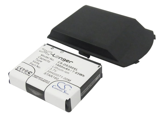 Battery For CINGULAR 3125, / DOPOD 710, S300, / HTC Star trek, - vintrons.com