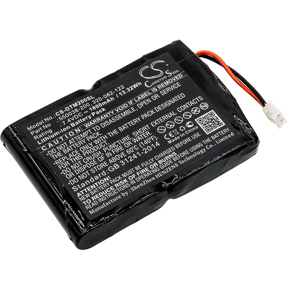 O'NEIL 320-082-122, 550038-200 Replacement Battery For O'NEIL MF2te, - vintrons.com