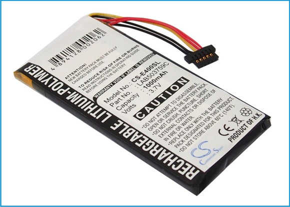 TOSHIBA LAB503759C Replacement Battery For TOSHIBA E400, E410, - vintrons.com