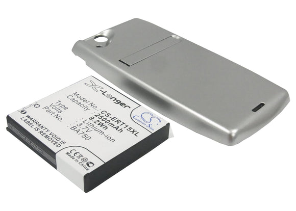 SONY ERICSSON BA750 Replacement Battery For SONY ERICSSON LT15a, LT15i, Xperia Arc, - vintrons.com